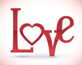 Love digital design. — Stock Vector
