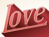Ψηφιακή σχεδίαση αγάπη. — Διανυσματικό Αρχείο