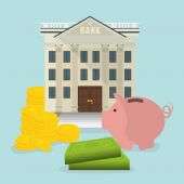 Save money design. — Stock Vector