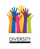 Diversity people design, vector illustration eps 10. — Stock Vector