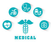 Medische ontwerp. — Stockvector
