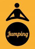 Conception de saut — Vecteur