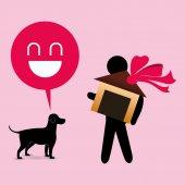 Diseño cuidado de las mascotas — Vector de stock
