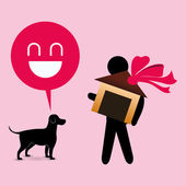 Sällskapsdjur bekymmer design — Stockvektor