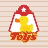 Toys design — Stock Vector