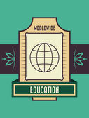 Education design — Stock Vector