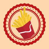 Fast Food design — Stock Vector