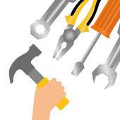 Tools design — Stock Vector