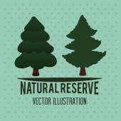 Tree design — Stock Vector