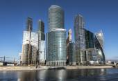 Business Center Moscow City. — Stock Photo
