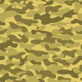 Seamless military camouflage texture. — Vector de stock