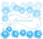 Beautiful greeting card — Stock Vector