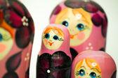 A matrioska doll form russia — Stock Photo