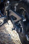 Motorcycle chain — Stock Photo