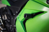 Cowl of a motorcycle. — Stock Photo