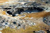 Hot mud in Namafjall — Stock Photo