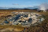 Fumarol 在 namafjall,冰岛 — 图库照片