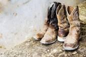 Cowboy footwear — Stock Photo