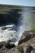 Waterfall Gullfoss — ストック写真
