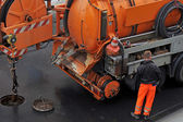Sewer cleaning. — Stock Photo