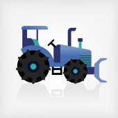 Trator — Vetor de Stock