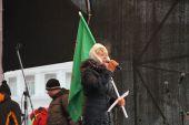 Opposition leader Yevgeniya Chirikova — Stock Photo