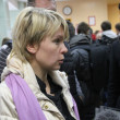 Candidate for mayor of Khimki opposition leader Yevgeniya Chirikova — 图库照片 #57764139