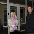 Постер, плакат: Opposition leader Alexei Navalny arrived in Khimki to support the opposition candidate Yevgeny Chirikova
