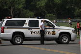 Car secret service U.S. — Stock Photo