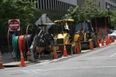 Road vehicles on the streets of Washington — Stock Photo