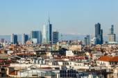 Cityscape of Milan, Italy — Stock Photo
