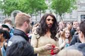 Conchita Wurst in Cologne — Stock Photo