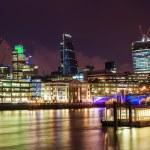 City of London at night — Stock Photo #52112803
