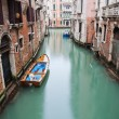Typical canal scene in Venice, Italy — Stock Photo #52161323