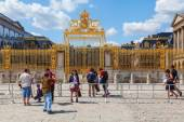 At the Palace of Versailles — Stock Photo