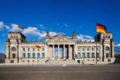 German Reichstag in Berlin, Germany — Stock Photo