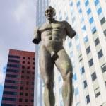 Sculpture of Igor Mitoraj in La Defense Paris — Stock Photo #54473769