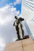 Sculpture of Igor Mitoraj in La Defense Paris — Foto Stock