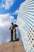 Sculpture of Igor Mitoraj in La Defense Paris — Stock Photo