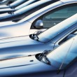 Row of parking cars — Stock Photo #54528083
