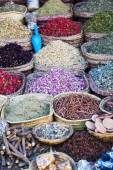 Traditional Moroccan spices — Stock Photo