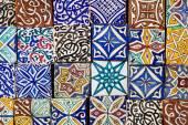 Moroccan tiles — Stock Photo