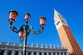 Campanile at St Marks Square in Rome, Italy — Stock Photo