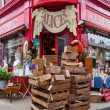Antique shop in the Portobello Road in London, UK — Stock Photo #54646693