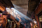 Passage in a souk of Marrakesh, Morocco — Stock Photo