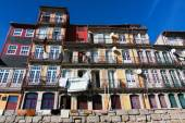 Picturesque old building in the Ribeira of Porto, Portugal — Foto Stock