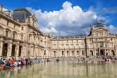 Louvre in Paris, France — Stock Photo