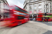 Oxford Circus in London, England — Stock Photo