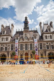 Hotel de Ville in Paris, France — Stock Photo