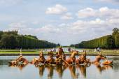 Fountain in the Gardens of the Palace of Versailles — Stock Photo